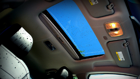 sunroof glass repair