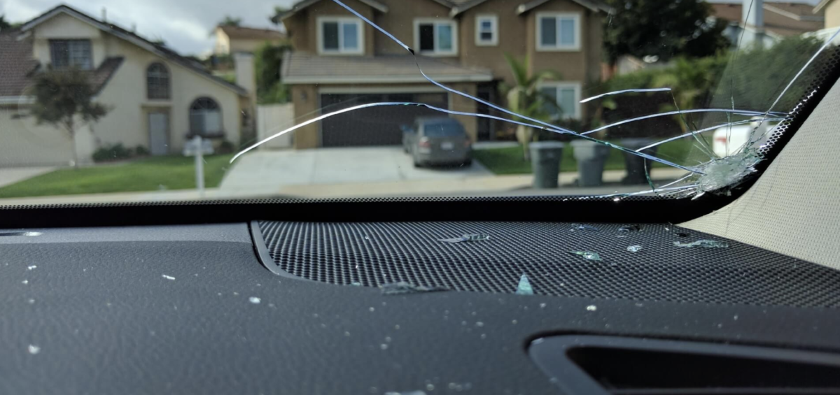 how to repair a long cracked windshield
